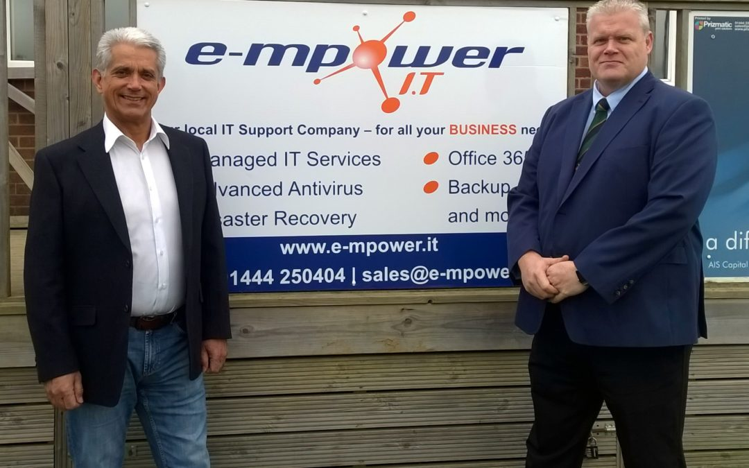 Nice Touch – E-mpower.IT become new Sponsors of BHRFC