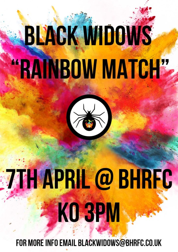 Black Widows Rainbow Match