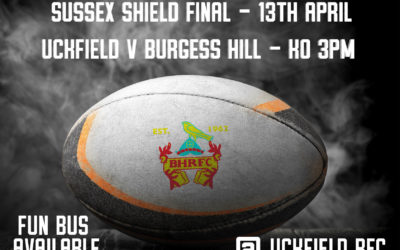 Sussex Shield Final – 13th April
