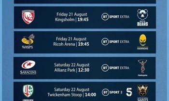 Live Rugby at the Club – BT Sport